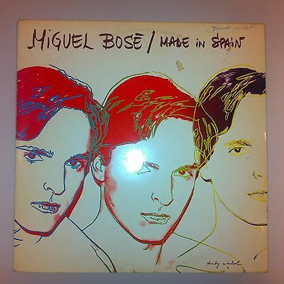 LP - Miguel Bose - Made in Spain