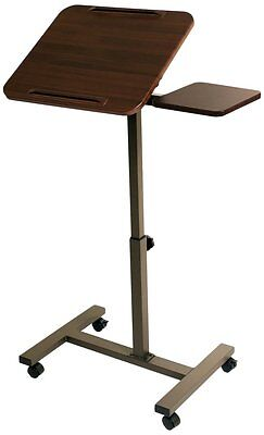 NEW Desk Stand Portable Adjustable Rolling Pulpit Podium Church Presentation NEW