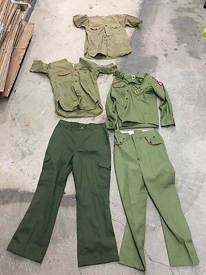 Vintage boy scout shirts & Pants 1950s & 1960s