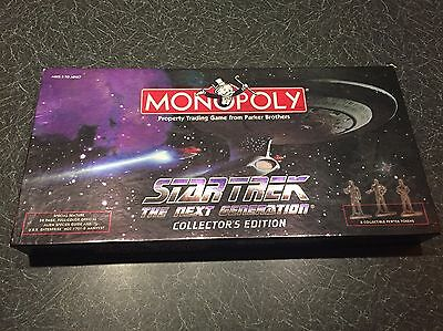 Star Trek Monopoly The Next Generation Collectors Edition Board Game
