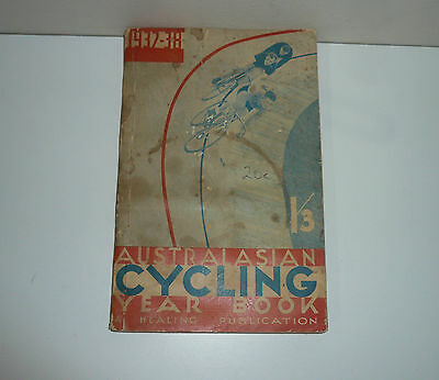 Australasian Cycling Year Book 1937-38 By Healing Publications Second Edition