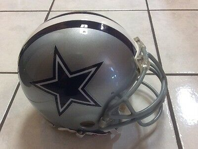Dallas Cowboys Used / Issued Riddell Helmet