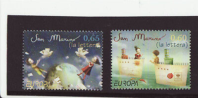 San Marino 2008 MNH - EUROPA - Letter - set of two stamps