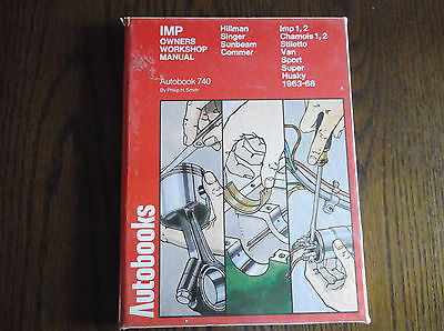 Hillman Imp 1963-68 Workshop Manual