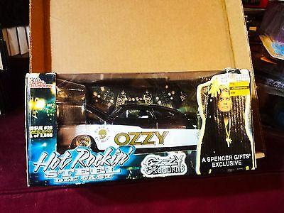 Ozzy Osbourne No Rest for the Wicked Die Cast Hot Rockin' car limited edition