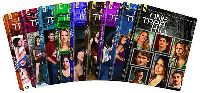 One Tree Hill: The Complete Seasons 1-9 (DVD, 2012, 50-Disc Set) BRAND NEW