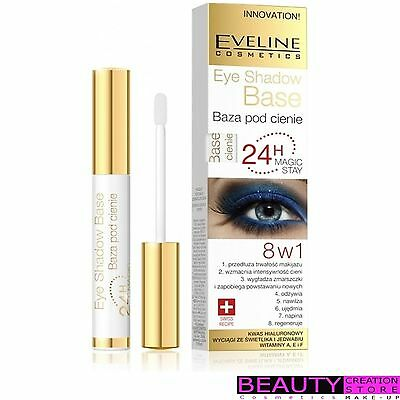EVELINE 8in1Eyeshadow Base 24hr Magic Stay Long Eye Primer 7ml EV090