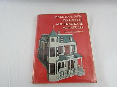 Vintage Dollhouse Make your own Dollhouse & Furniture pattern book