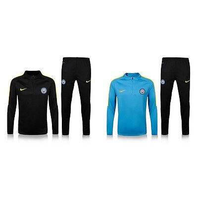 New Adult Men Manchester City Tracksuits Soccer Football Training Jacket & Pants