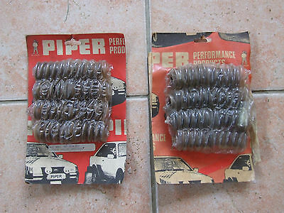 Unused / NOS Piper double valve springs set BMC A Series + another part-set