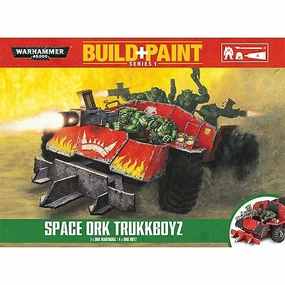 Warhammer 40K Build + Paint - Space Ork Trukkboyz - Build and Paint NEW