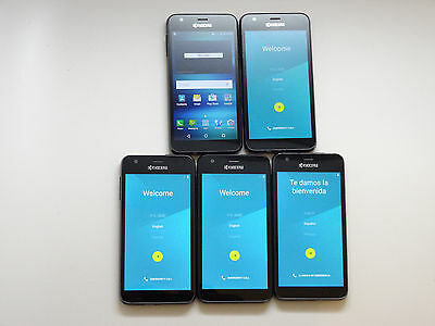 Lot of 5 Kyocera Hydro Air C6745 AT&T 4GB Smartphones AS-IS GSM