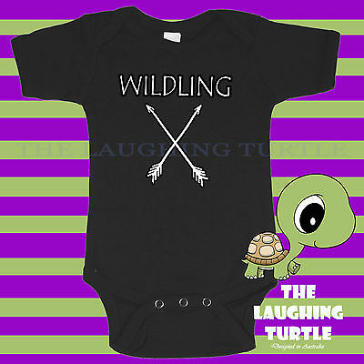 GOT. Game of Thrones. Wildling. Funny Baby One Piece. Romper. Cool
