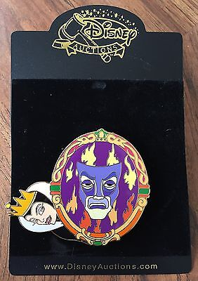 Disney Auctions Magic Mirror Evil Queen and Old Hag Slider Pin LE 500 NEW