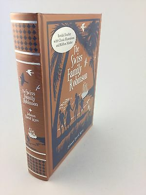 The Swiss Family Robinson Bonded Leather New Hardcover Sealed