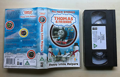 Thomas And (&) Friends - Happy Little Helpers - Vhs Video