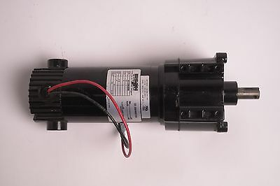 Bison 336 Series 24V DC 1/8 HP 30RPM Gearmotor