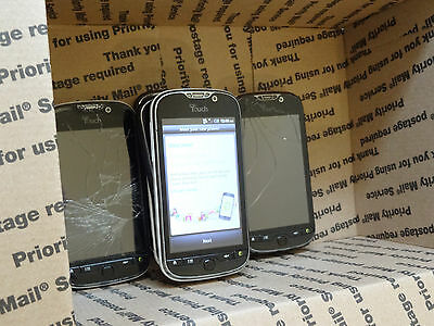 Lot of 9 HTC myTouch 4G PD15100 T-Mobile Smartphones All Power On AS-IS GSM