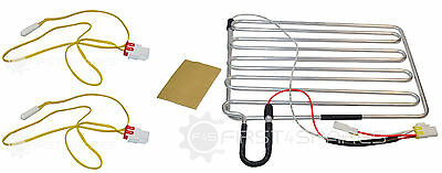 Compatible Samsung Aluminium Refrigerator Defrost Heater Element with 2 Sensors