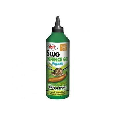 New Doff Organic Slug Defence Gel 1lt Bottle Garden Pest Control Slug Bait