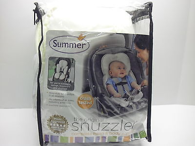 Kiddopotamus Snuzzler Complete Head and Body Support, Ivory Terry