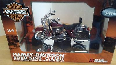 Harley Davidson Road King Classic 1/12 Diecast Promotions