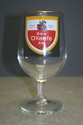 """Vintage 'carling O'keefe' 6"""" Tall Beer Glass"""