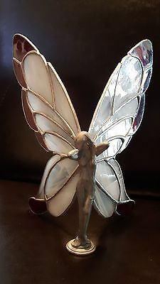 Pewter Stained Glass fairy