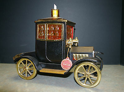 Royal Craft 1960's '1915 Ford Model-T open coupe Musical Decanter Car Bar Set