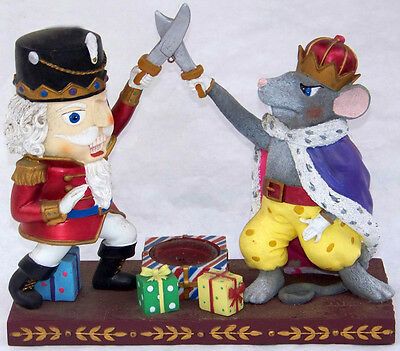 YANKEE CANDLE Christmas Holiday NUTCRACKER and the MOUSE KING tea light holder