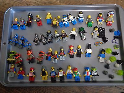 Lego - Minifigs - Big lot and parts (45 minifigs)