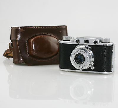 GALILEO OPTICAL Condor 1 35mm Film Camera c.1947 ('Italian Leica') & Case (DZ67)