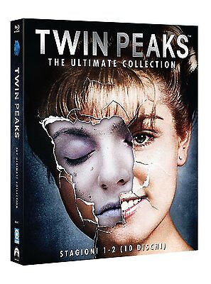 Twin Peaks - The Ultimate Collection (10 Blu-Ray Disc) - ITALIANO ORIGINALE -
