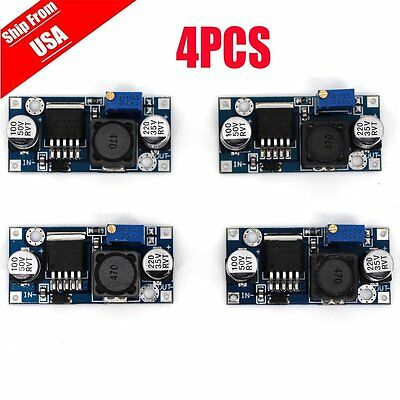 4pcs DC-DC Buck Converter Adjustable Step-Down Power Supply Module LM2596S  AP