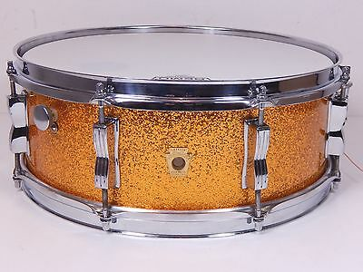 Ludwig 1968 Jazz Festival USA 14x5 Vintage Snare Sparkling Gold   *TOPZUSTAND*
