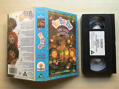 Tots Tv - Sing-Song Adventures - Vhs Video