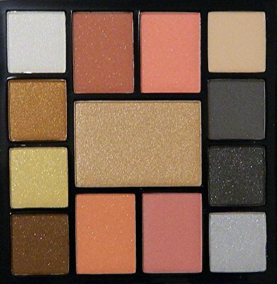 SEPHORA COLLECTION All Access Glam Gold and Silver Eye and Face Palette New