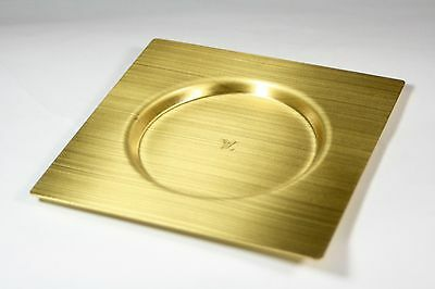 Authentic Louis Vuitton Rare VIP Store  Brass Tray Coaster