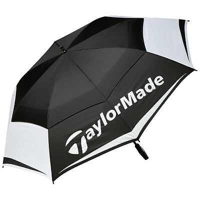 "Taylormade 2017 Tm Tour 64"" Auto Opening Double Canopy Mens Golf Umbrella"