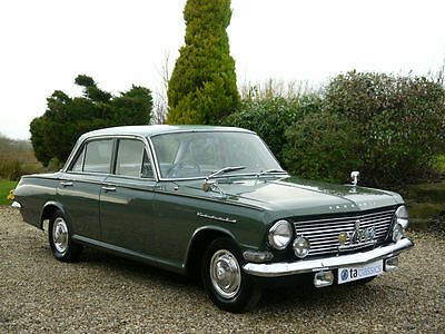 1964 Vauxall Creta PB 2600cc Manual / Overdrive. Only 3 Previous Owners.