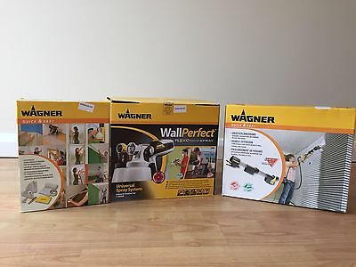Wagner Wall Perfect Flexio 580i Spray and Extras