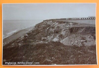 RP Postcard c.1930 BRIGHTSTONE HOLIDAY CAMP BRIGHTSTONE ISLE OF WIGHT