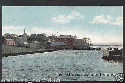 Ireland Postcard - The Fisheries, Ballina   1980