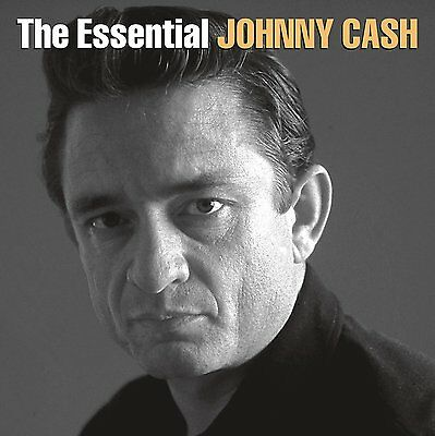 JOHNNY CASH 'THE ESSENTIAL' (Best Of) Double VINYL LP (2016)