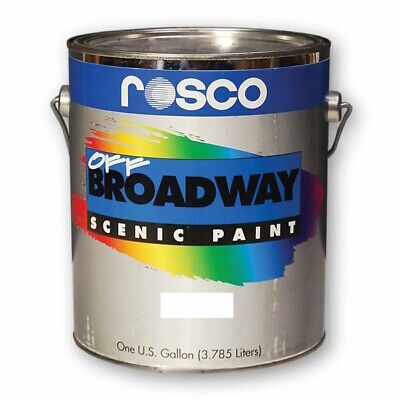 Rosco Off Broadway Scenic Paint – Yellow Ochre 5353 / 535317 – 3.79 Litres