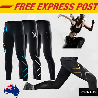 (2017) 2XU Womens Compression Tights Brand New with Tags Sportswear Skins Long