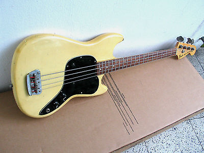 1978 FENDER MUSIC MASTER BASS - made in USA