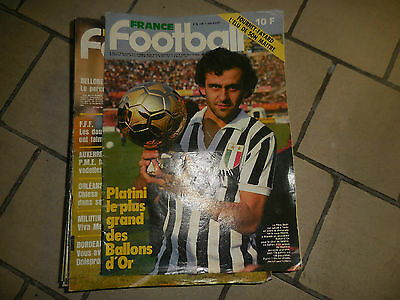 France Football ANNEE 1983 COMPLETE