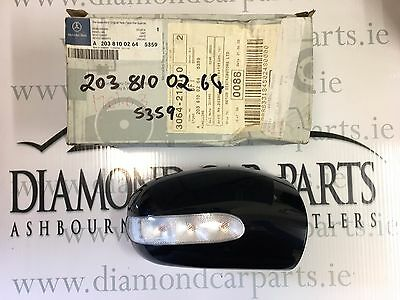 Brand New Genuine Mercedes W203 C-Class Right Side Wing Mirror Cover A2038100264