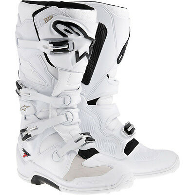 ALPINESTARS Tech 7 White Off Road Boots Free Express Eu Delivery